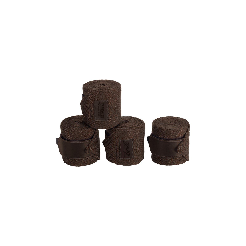 ESKADRON Bandagen Acrylic Lurex Platinum havanabrown