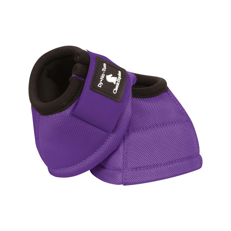 Classic Equine Hufglocken Dy No-Turn purple | L