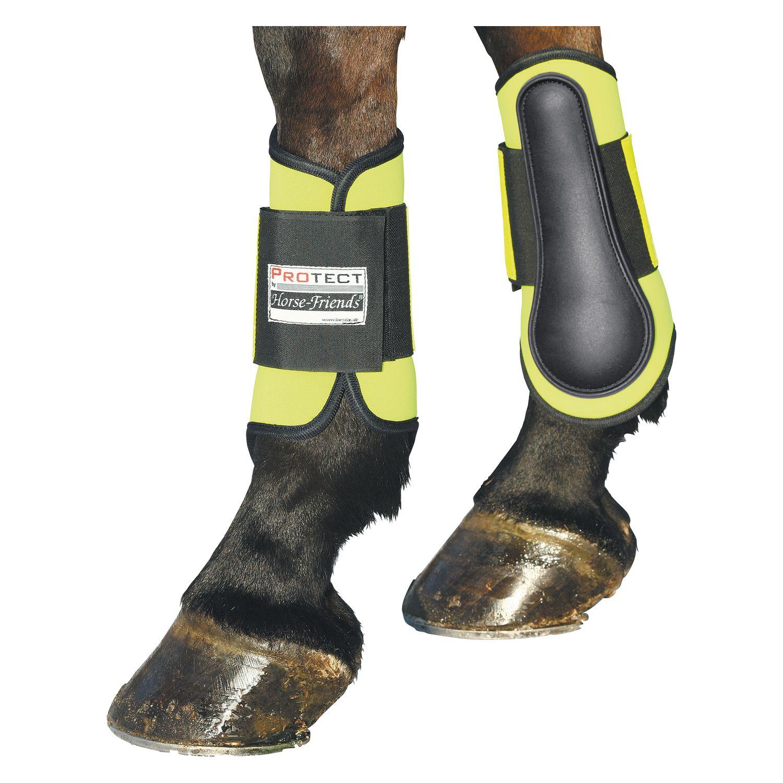 PROTECT by Horse-Friends Reflex-Gamaschen, vorne