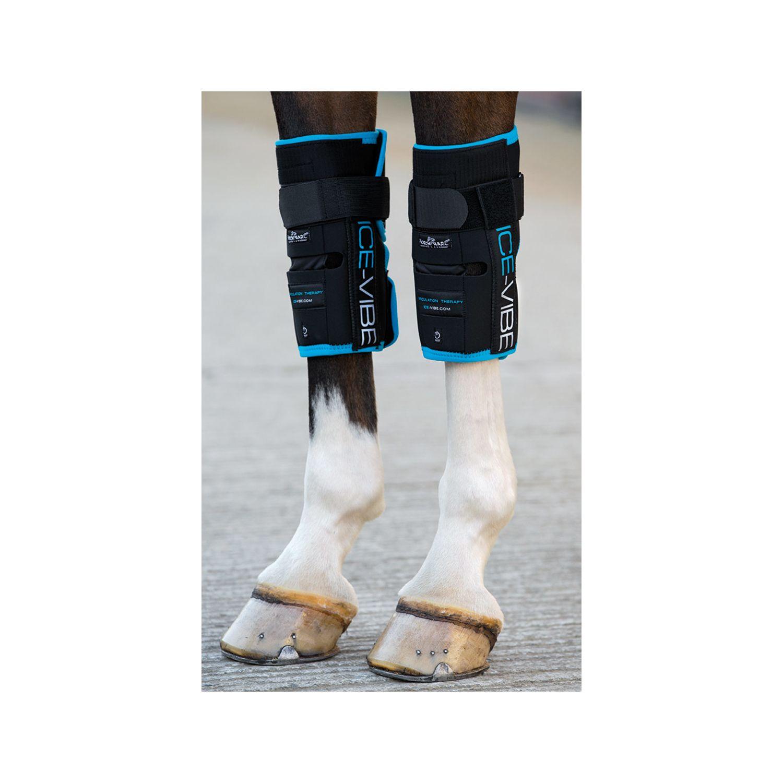 Horseware Ice-Vibe Vorderfuß- wurzelgelenk-Gamaschen schwarz | WB