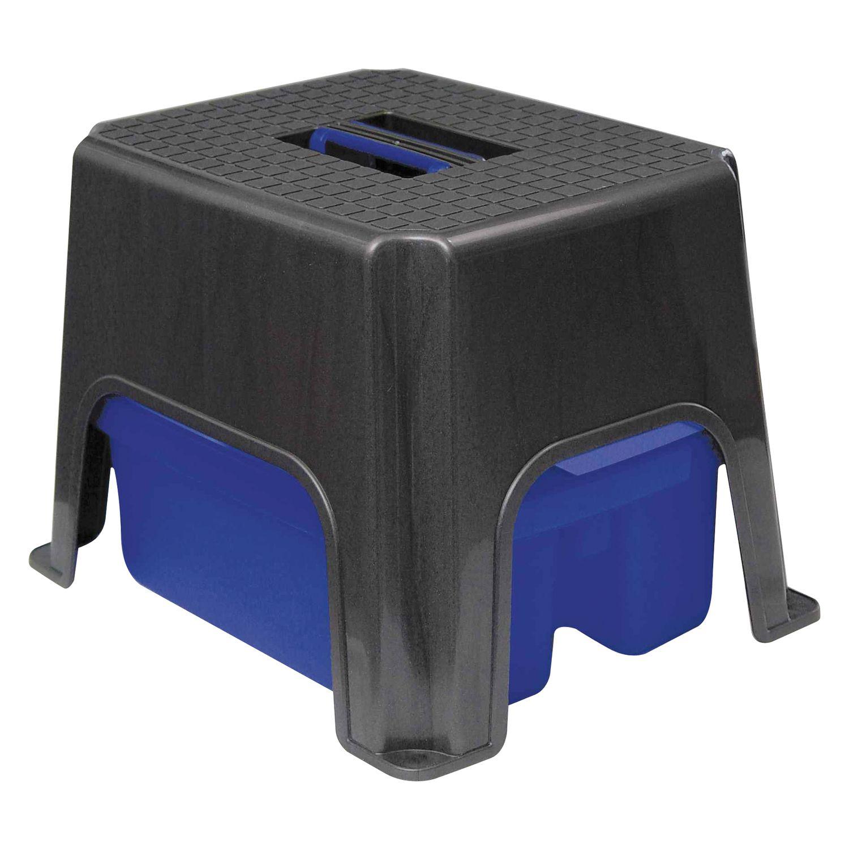 HAAS Tritthocker mit Aufbewahrungsbox