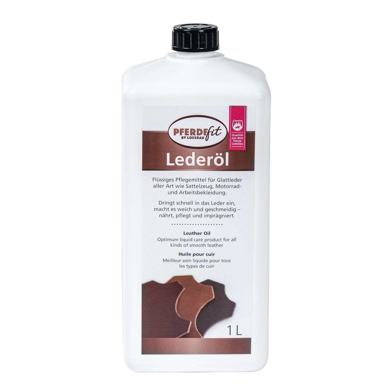 Loesdaus Pferdefit Tran-Öl, Lederöl