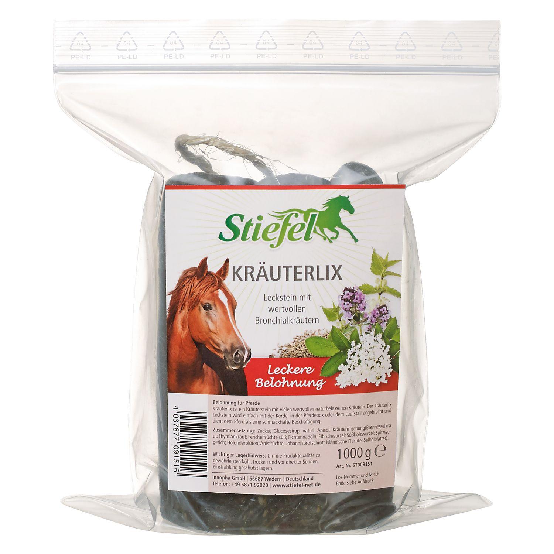 Stiefel Kräuterlix Leckstein