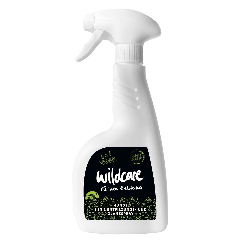 wildcare Hunde-2 in 1 Entfilzungs- und Glanzspray - ANTI KRAUS 500 ml
