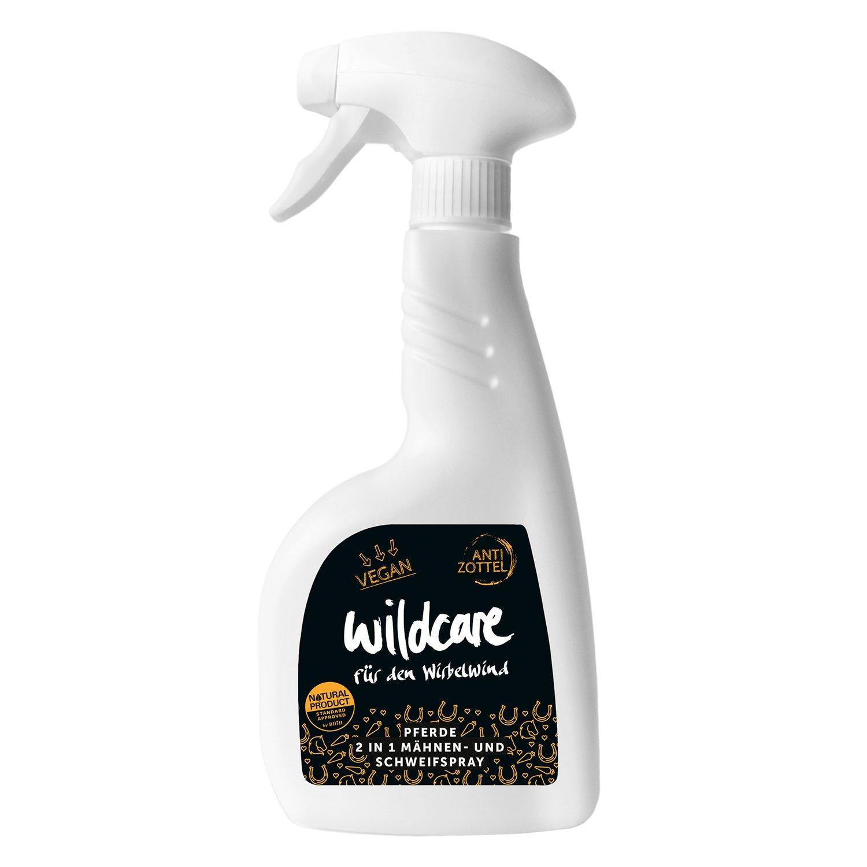wildcare Pferde-2in1 Mähnen- & Schweifspray - ANTI ZOTTEL 500 ml
