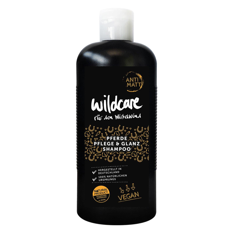 wildcare Pferde-Pflege- und Glanz Shampoo - ANTI MATT 250 ml