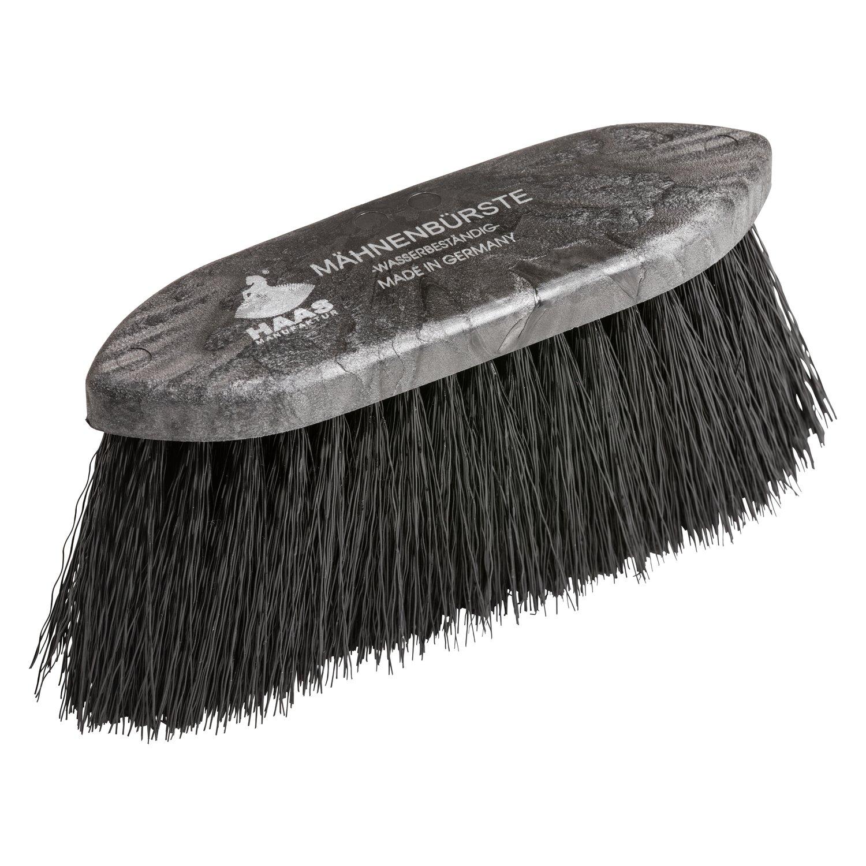 HAAS Mähnen- und Fellbürste black klein black