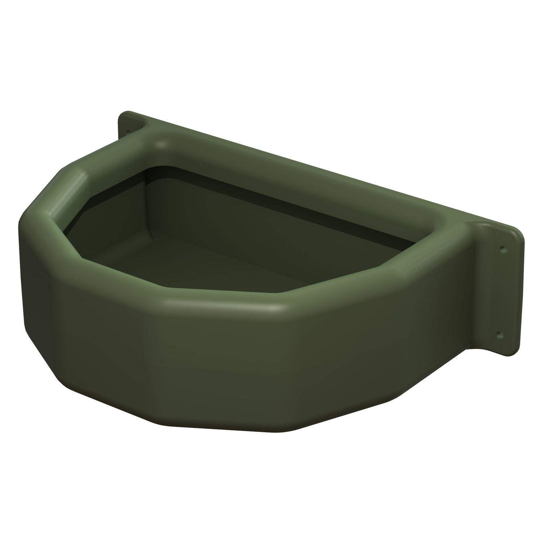 KERBL Futterkrippe grün