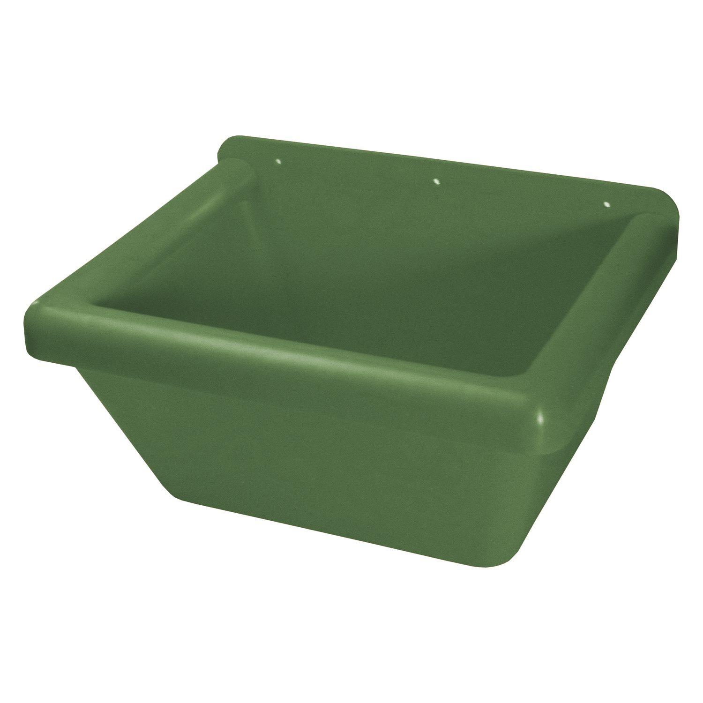 Rechteck-Futtertrog grün