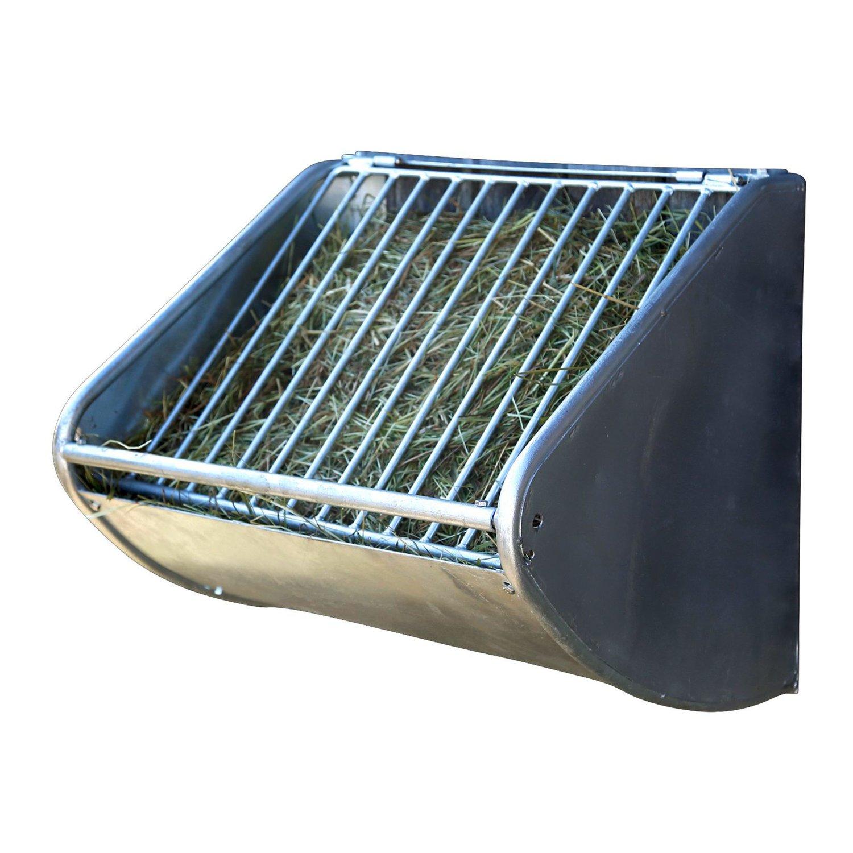 Heuraufe mit Futterspargitter 90 Liter