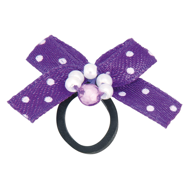Einflechtschleifen Sweety lila