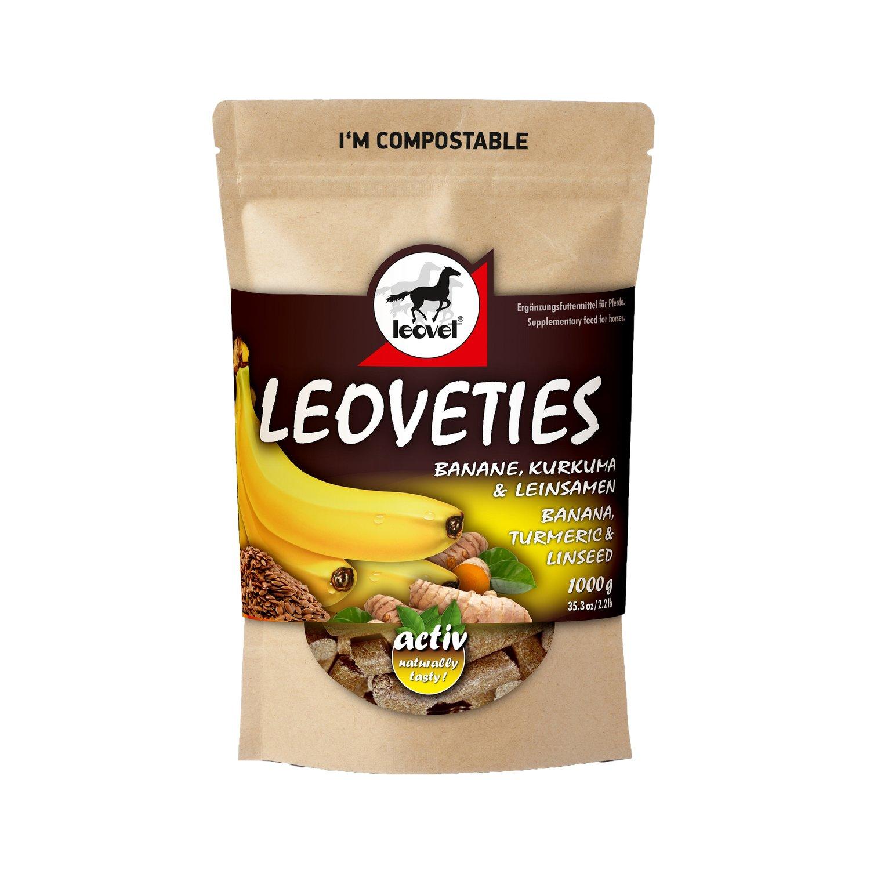 leovet Leckerli Leoveties Banane & Kurkuma & Leinsamen 1 kg