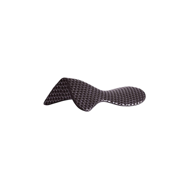 ACAVALLO Respira Air-Release Soft Gel Pad ohne Erhöhung schwarz | WB
