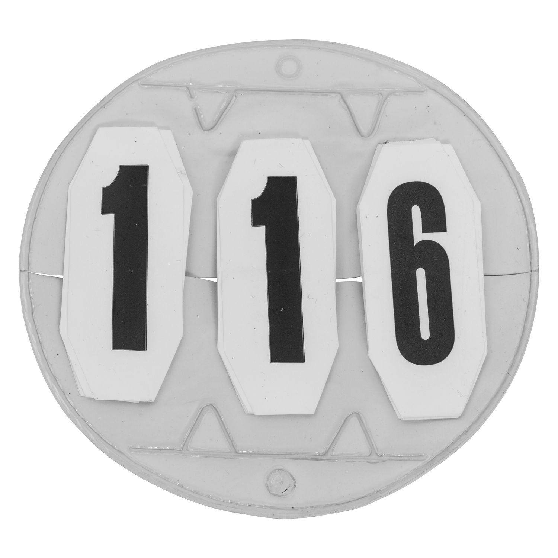 Turniernummern mit Klett