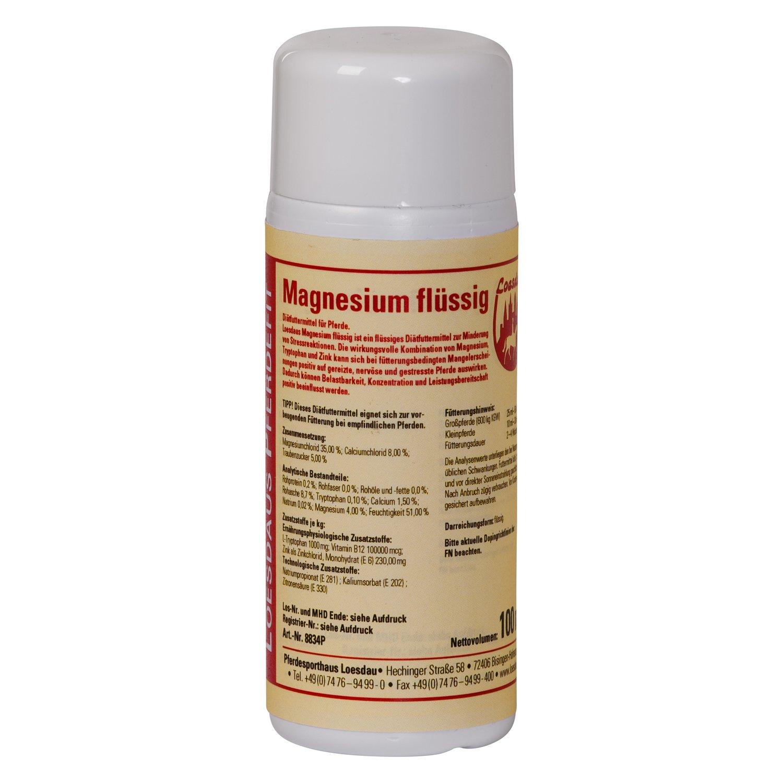 Loesdaus Pferdefit Magnesium flüssig