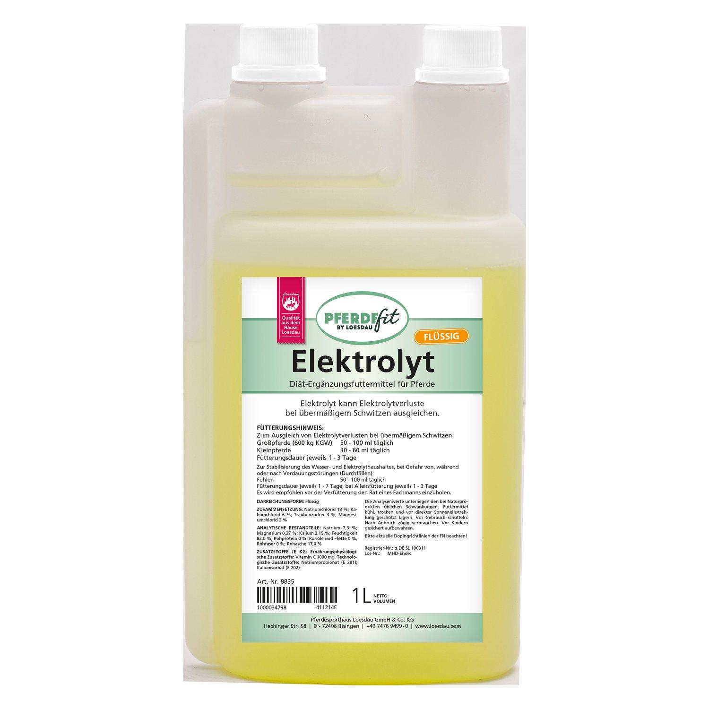 PFERDEfit by Loesdau Elektrolyt flüssig 1 Liter