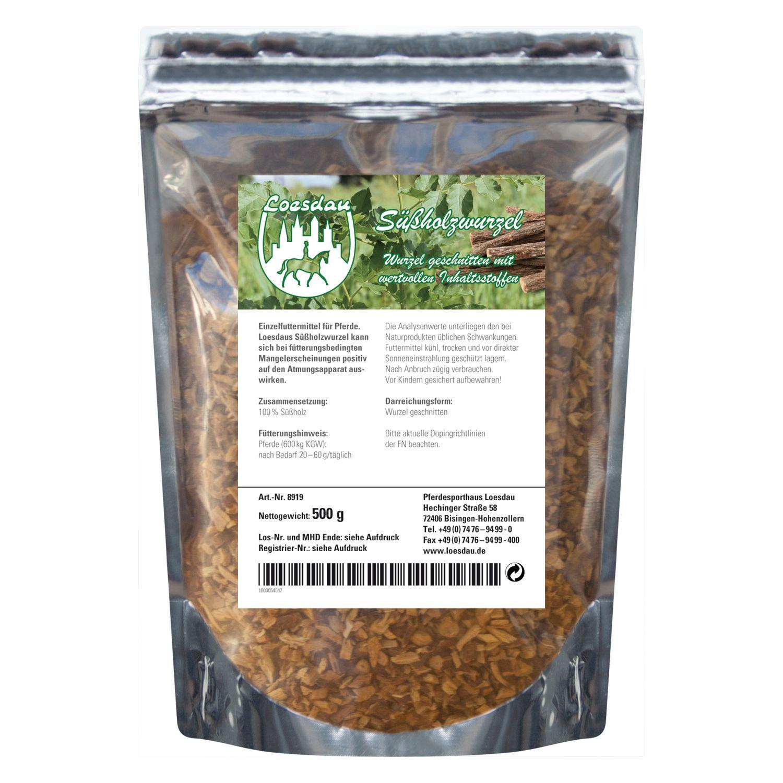 Loesdaus Pferdefit Süßholzwurzel 500 g