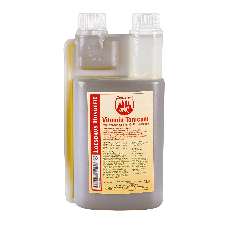 Loesdaus Hundefit Vitamin-Tonicum 500 ml