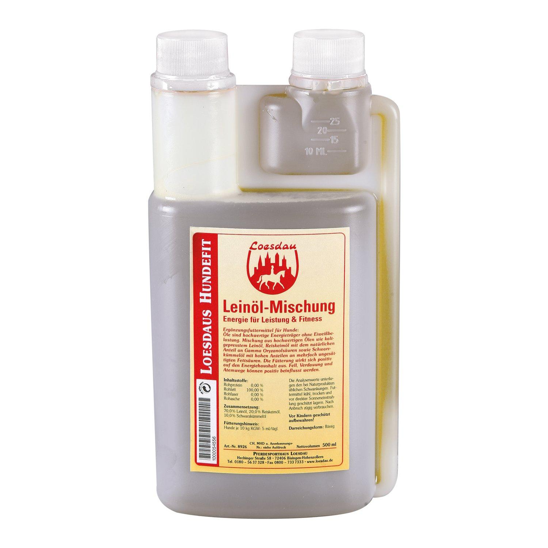 Loesdaus Hundefit Leinöl-Mischung 500 ml