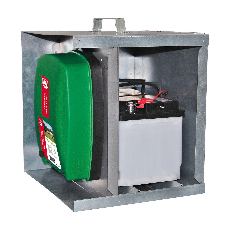 Metallbox für Weidezaungeräte
