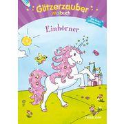 Glitzerzauber Malbuch Einhörner, TESSLOFF