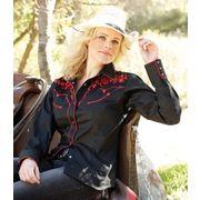 STARS & STRIPES Westernbluse Katy