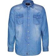 OKLAHOMA Jeans-Hemd