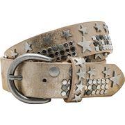 Gürtel im Metallic-Look