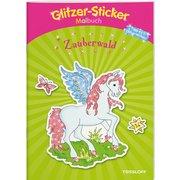 TESSLOFF Glitzer-Sticker-Malbuch Zauberwald