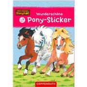 Wunderschöne Pony-Sticker