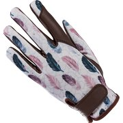 L-pro West Handschuhe mit Federdesign