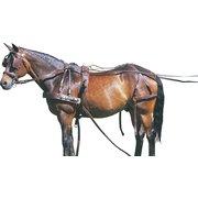 Einspänner-Brustblattgeschirr, für Ponys bis 135 cm