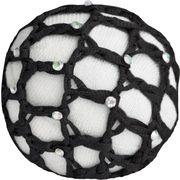 Haarnetz mit Glitzersteinen