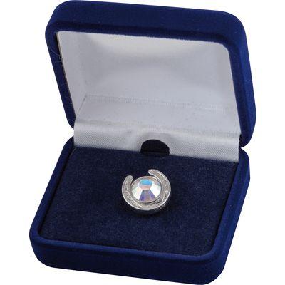 Ansteckpin Hufeisen Diamond
