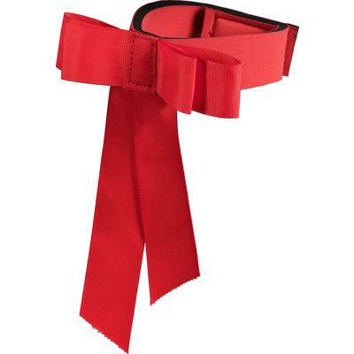Warnschleife für den Schweif rot