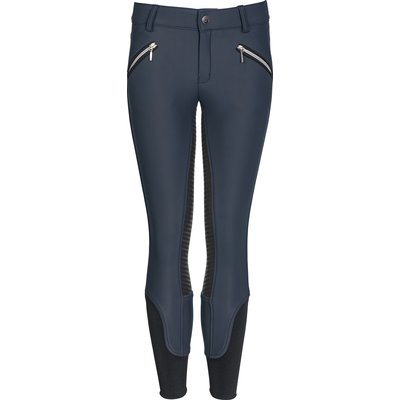 black forest Softshell-Reithose Helsinki Grip blue indigo | 164