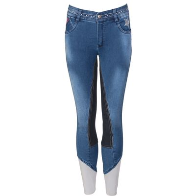 black forest Jeans-Reithose blue used | 152
