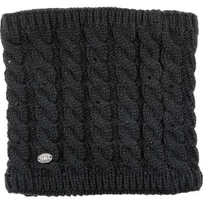 black forest Neckwarmer mit Strass-Steinchen schwarz | EINHEITSGR