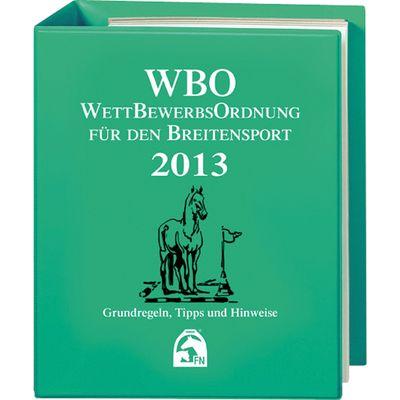 WBO Wettbewerbsordnung für den Breitensport, FNverlag