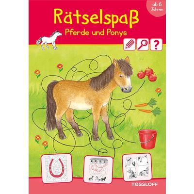 TESSLOFF Rätselspaß Pferd & Pony
