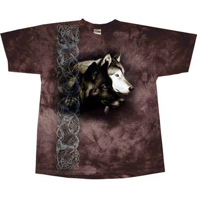 Kinder-T-Shirt Observing Wolf