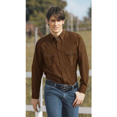 STARS & STRIPES Westernhemd Ron braun | S