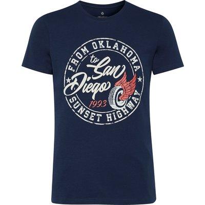 OKLAHOMA T-Shirt dress blues | S
