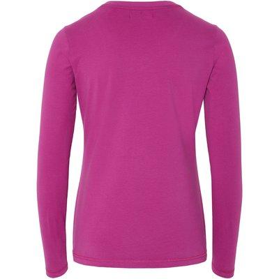 OKLAHOMA Premium Denim Longsleeve pink/white | XS