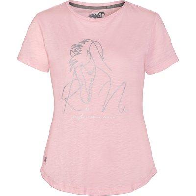 RIDE now T-Shirt mit Glitzerpferd