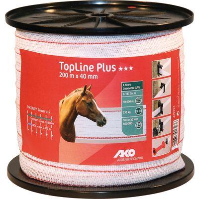 AKO Elektroband TopLine Plus, 40 mm, 200 Meter