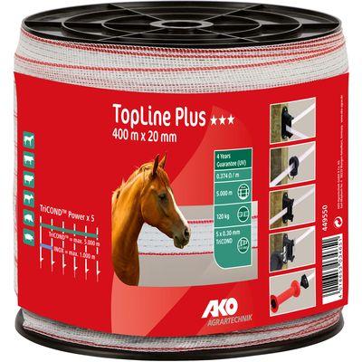 AKO Elektroband TopLine Plus, 20 mm, 400 Meter