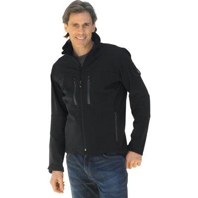 WELLENSTEYN Alpinieri Softshell-Jacke schwarz | L