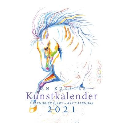 Kunstkalender Pferde, Künster 2021