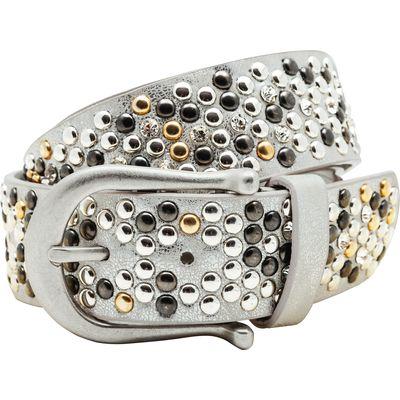 Gürtel Metallic-Look, breit